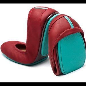 Tieks | Cardinal Red Flats size 7